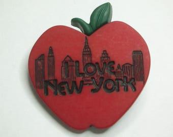 Button fantasy XL, i love new york