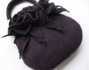 Felt bag,Felted bag, felt bags, felted bags, woman's bag, Felt handbag, merino wool ,handbags, Art bag,Felt purse,felted purse