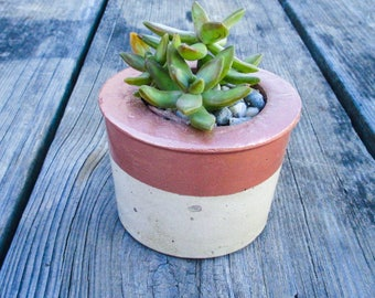 Minimalist planter - Minimalist decor - Concrete planter - Cement planter - Succulent planter - Concrete pot - Cement pot - Indoor planter