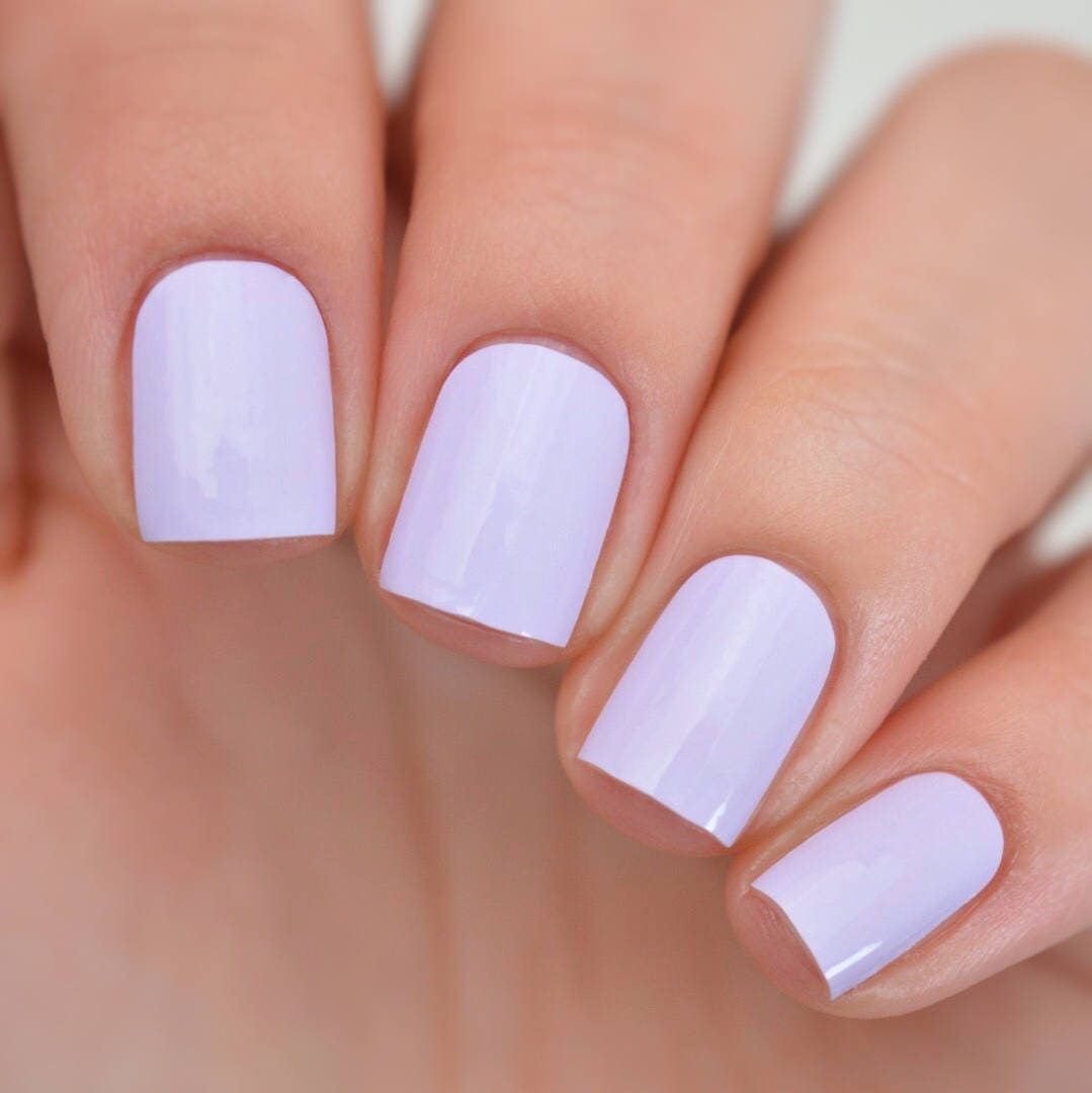 Lilac Nail Color: Lilac Coloured Nail Polish Wraps From ItsPersonail On Etsy