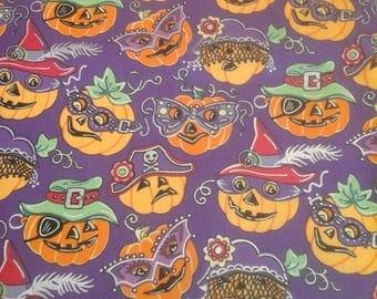Halloween Fabric 1 Yard Cotton