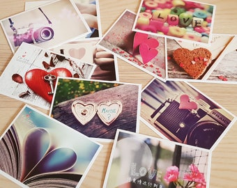 """Post Cards x32 Pack """"FOR LOVE"""""""