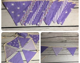 Purple bunting 1.3m *REDUCED*