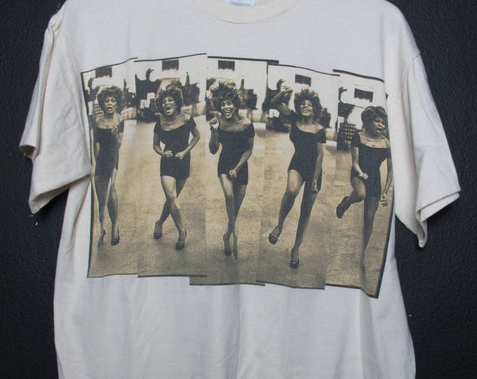 Tina Turner 1997 Wildest Dreams Tour vintage Tshirt