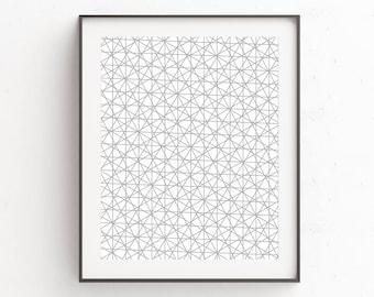 Geometric Wall Art, Geometric Art, Scandinavian Art, Printable Poster, Geometric Print, Modern Wall Art, Downloadable Prints, Wall Decor