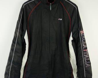 Vintage Fila Sports Sportswear Windbreaker Jacket Medium