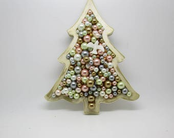 Tree Filled with Glass Beads