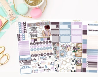 Celebrate Personal Kit, Matte Removable planner stickers
