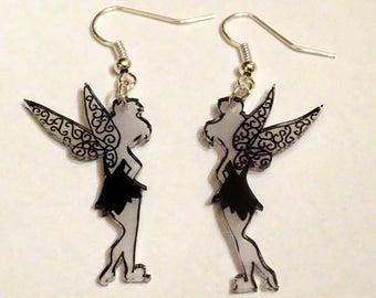 pretty black and white fairy