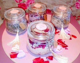 Handmade luxury bath salts
