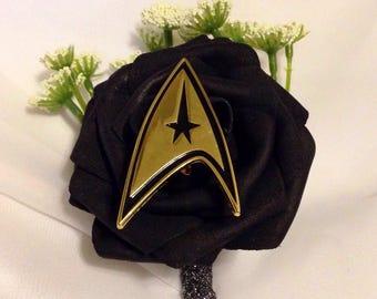 Star Trek fantasy boutonniere badges