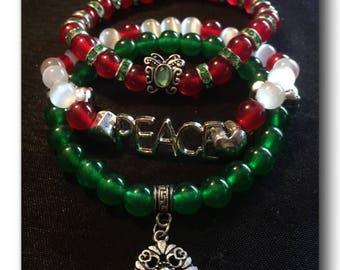 Holiday bracelet set