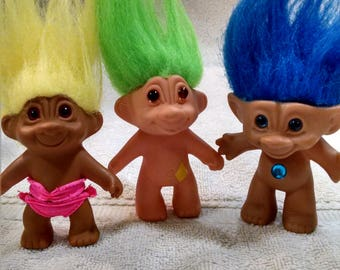 Little Troll Doll Collection