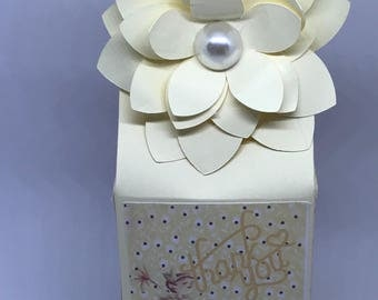 Fairy Party favor Boxes and centerpieces
