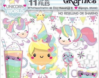 80%OFF - Unicorn Clipart, Unicorn Graphics, Commercial Use, Unicorn Party, Magical, Unicorn Clip Art, Unicorn Girl