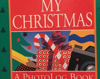 Photo Log Book Vintage Unused My Christmas Photo Log Book Journal Free Gift Wrapping
