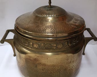 WMF Jugendstil brass bowl