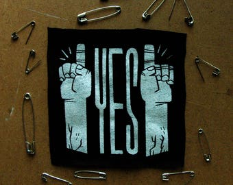 Yes! Sew On Canvas Patch