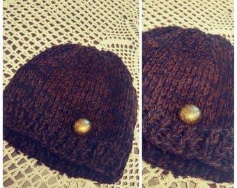 Knit Toddler Hat