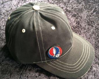 SYF on Black/Natural Trimmed Baseball Hat