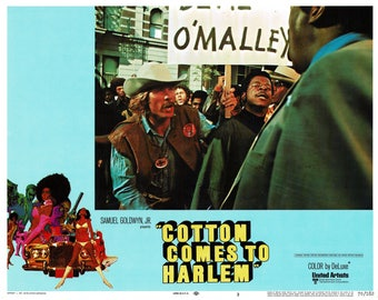 Cotton Comes To Harlem – 1970 - Original US lobby card   # 3