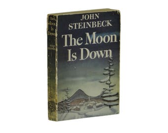 The Moon is Down ~ JOHN STEINBECK ~ ARC Advance Copy ~ First Edition ~ 1st 1942