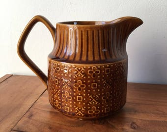 Vintage Brown Sadler Jug