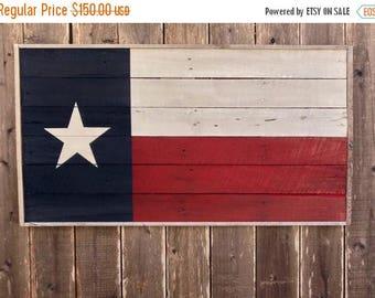 ON SALE Wooden Texas Flag - Texas Wall Decor - Large Wooden Signs - Reclaimed Wood Texas - Flag Wall Art - Wood Texas Sign - Reclaimed Wood