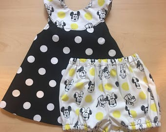 Irreversible Dress with matching Bloomer