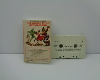 The wizard of oz soundtrack cassette tape