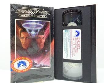 Star trek the final frontier VHS Tape