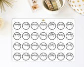 Bullet Journal Header Stickers | Made for your bullet journal. 841L