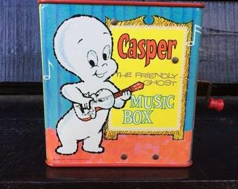 Vintage Casper the Friendly Ghost Music Box