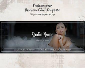 Facebook Timeline Cover Template, Photographer Facebook Cover, Timeline Cover, marketing, timeline template, Facebook Banner, Photographer