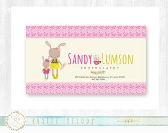 Business Card ,Logo Design ,Floral Business Card, Photography Business Card,Bunny Business Card, Party Business Card
