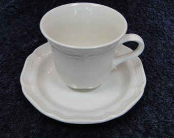 Mikasa French Countryside Cup Tea Coffee Mug Saucer Set F9000 EXCELLENT!
