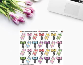 Amanda The Panda ~ PLANNER Bows / Shop For Stickers ~ Planner Stickers CAM PANDA 045