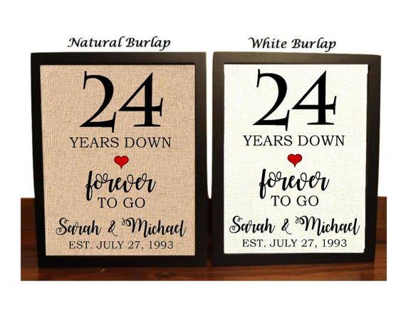24 Wedding Anniversary Gift: 24th Anniversary Gift 24th Wedding Anniversary Gift Gift