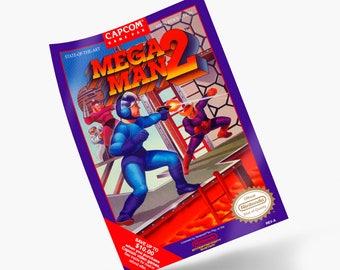 Mega Man 2 NES Print