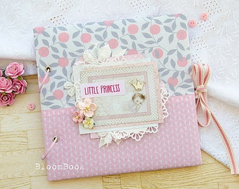 Baby Memory Book Girl Baby Book Girl Baby Album  Personalized Baby Book Baby Record Book Baby First Year Book Scrap Album For Newborn Kids