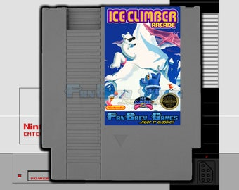 """IN STOCK! """"Ice Climber Arcade"""" Nintendo NES Unreleased Vs. Version Awesome!"""
