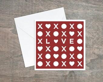 Love card, Hugs and kisses, Paper cut card, Heart card, Anniversary card, Valentines day, Wedding card, Card for boyfriend, Girlfriend card