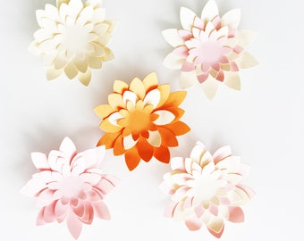 Flower paper 210 gr - small model - choice of colors
