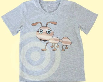 Ant shirt Kids tshirts -Toddler tees -Toddler shirts - Cute Toddler shirts - Insect Ant tshirt