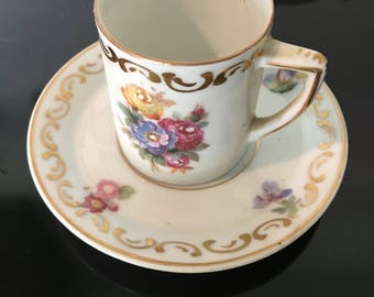Teacup - Bone China - Flowers