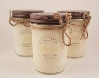 Pumpkin Spice Latte Hand Poured Soy Candle