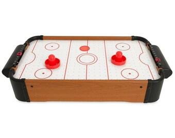 "20"" Mini Tabletop Air Hockey Game"