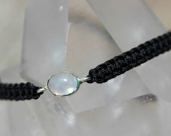 Bracelet Moonstone connector