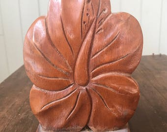 Vintage Hawaiian Napkin Holder/ Book Holder