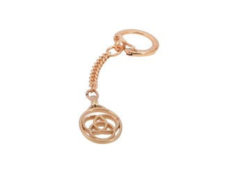 Family Medallion Key Ring - Perfect wedding gift for family members, blended family wedding gift ideas, blended family wedding ceremony